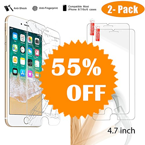 iPhone Protector NeWisdom Tempered Friendly