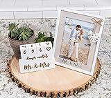 Mr & Mrs Wedding Countdown Block Set by Chosen