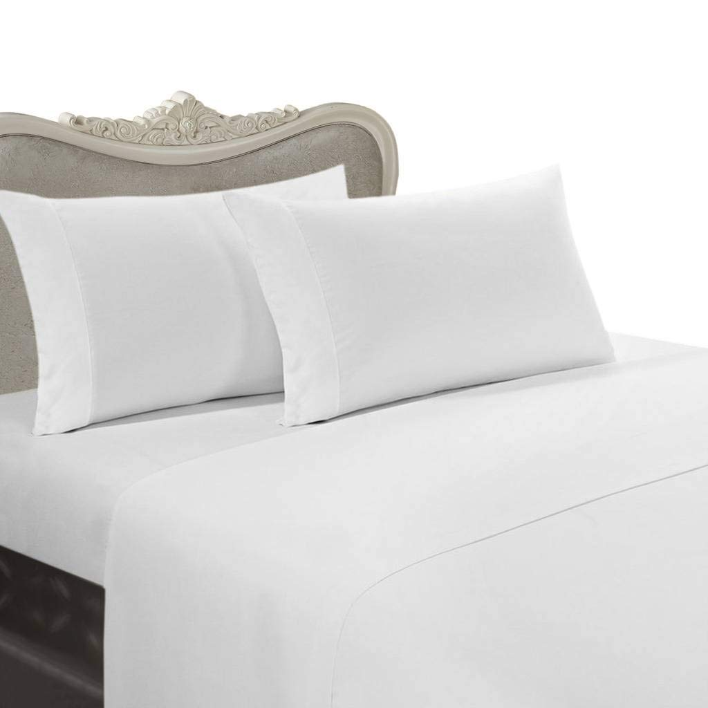 800 1000 1200 TC US Hotel Collection Scala Brand Duvet//Sheet Set in White Solid.