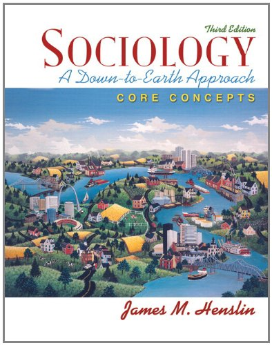 MySocLab with Pearson eText -- Standalone Access Card -- for Sociology: A Down-to-Earth Approach, Core Concepts (3rd Edi