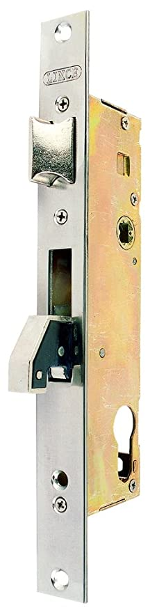 Lince 3016532 Cerradura 5570-25 Frente Inoxidable, 25 mm