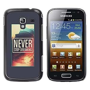 GagaDesign / Funda Carcasa protectora - Dreaming Poster Grey Sun - Samsung Galaxy Ace 2 I8160 Ace II X S7560M