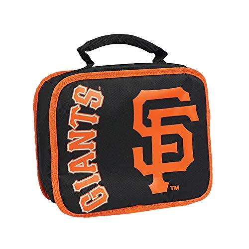 The Northwest Company MLB San Francisco Giants Sacked Lunchbox, Black, 10.5-Inch