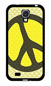 linJUN FENGHippie Peace on Hippie Sign Plastic Phone Case Back Cover Samsung Galaxy S4 I9500
