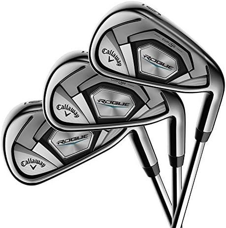 Callaway Golf 2018年モデル ローグ アイアン7本セット (男性用、左利き、シャフト: True Temper XP95、フレックス: R、セット内容: 4I,5I,6I,7I,8I,9I,PW) 4A37444392376 141[並行輸入]