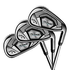 The new Rogue Irons embody the Rogue philosophy to break away from established protocols to develop new ways to extract maximum performance from a golf club. These irons feature a premium multi-material construction to combine new technologie...