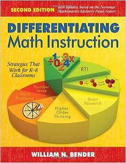 Amazon.com: Differentiating Math Instruction: Strategies That Work ...