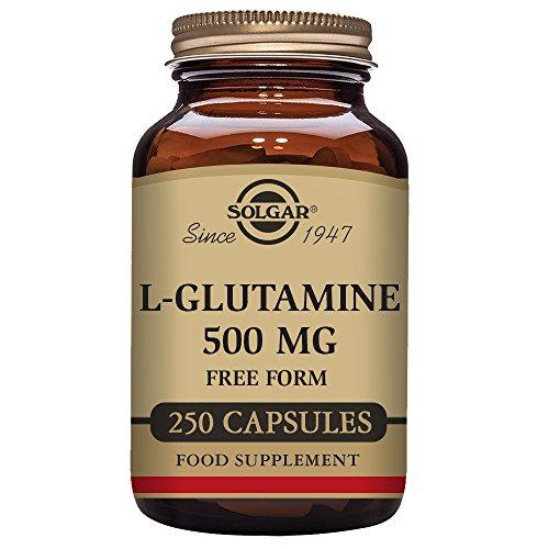 Solgar, L-Glutamine 500 mg 250 Vegetable Capsules