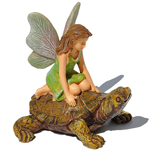 Marshall Home and Garden ''Racing Tortoise'' Miniature Fairy Garden Accessory #MG24 by Marshall Home and Garden