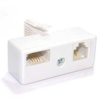 kenable BT 431A Plug to BT Socket & RJ11 2 Wire: Amazon.co.uk ...