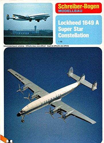 (Schreiber-Bogen Lockheed Super Constellation Card Model)