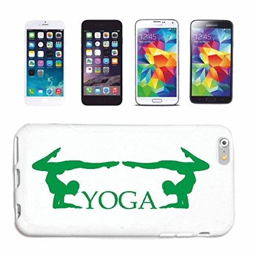 caja del teléfono iPhone 6+ Plus YOGA gimnasio de fitness yoga de la gimnasia ejercicios de yoga CLUB Bauchweg ejercicios de entrenamiento Caso duro de la cubierta Teléfono Cubiertas cubierta para e