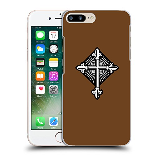 GoGoMobile Coque de Protection TPU Silicone Case pour // Q08010633 Christian Cross 26 Sépia // Apple iPhone 7 PLUS