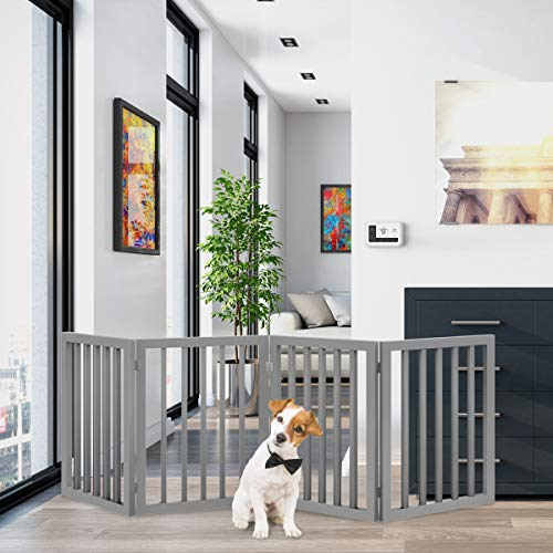 Freestanding Pet Gate Panel