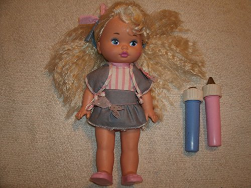 Vintage 1989 Mattel Lil Miss Dress Up Doll with Color Change Blue and Pink Wands (Lil Miss Dress Up compare prices)
