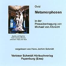 Metamorphosen Hörbuch von Ovid Gesprochen von: Hans Jochim Schmidt