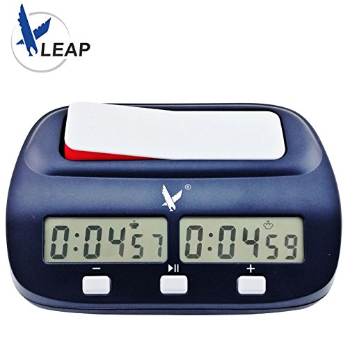 Professional Digital Chess Timer / Clock - LEAP KK9908 - NEW FIDE approved bonus chess clock