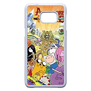 Samsung Galaxy S7 Phone Case White Cartoon Adventure Time Case Cover PP7U376185
