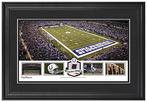 lucas-oil-stadium-indianapolis-colts-framed-panoramic-collage-with-game-used-football-limited-editio