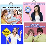 Each of the four decks in this set prepare teens and young adults for independence, teaching how to problem solve, make effective decisions, predict outcomes and deal with emotions that arise every day. Each ring has 30 cards with a crisp pho...
