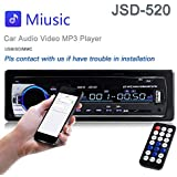 Car Stereo Radio 60Wx4 Output Bluetooth FM MP3 Stereo Radio Receiver Aux With USB SD And Remote Control L-JSD-520