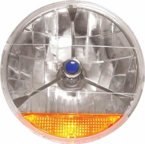 - AutoLoc HL2T Tri Bar Head Light with Turn Signal and Bulb