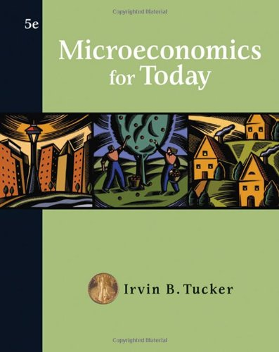 Microeconomics for Today (Available Titles CengageNOW)