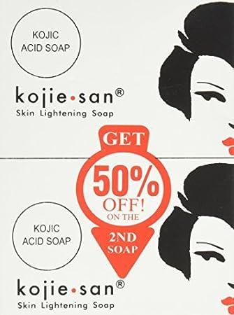 Skin Lightening Soap 135g LARGE (6-Pack) By Kojie San Diamond 12 Hr Lip Treatment, Gem By Sally Hansen