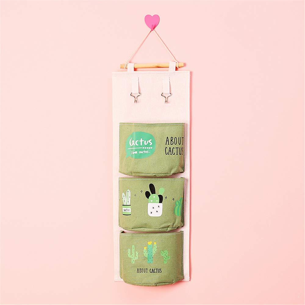 Beige Flamingo,21 x 59cm Badezimmer S/ü/ß Ordnungssysteme H/ängender Organizer Wand Aufbewahrungstasche B/üro H/ängeaufbewahrung H/ängende Tasche Tasche f/ür Kinderzimmer Schlafzimmer