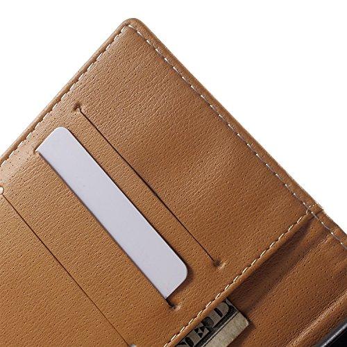 Vandot para iPhone 7 PU Funda Serie Bolsa Modelo Colorido con Bonito Hermoso Patrón de Impresión Dibujo Monedero de la Cartera de la Cubierta Móvil del Bolso del Teléfono Móvil del Proteja la piel con HSD 04