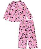 Disney Girls' Toddler Girls' Minnie Mouse 2-Piece Pajama Coat Set, Pink, 3T