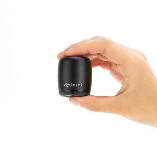 dodocool Altoparlante Bluetooth 2.1 Portatile Mini Speaker Wireless Ricaricabile Stereo con Microfono Massimo 4 Ore Playtime