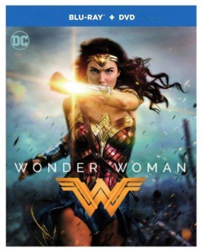 Wonder Woman (Blu-ray/DVD, 2017, 2-Disc Set) Action Adventure Genre ITIme