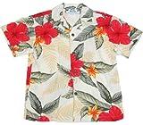 Two Palms Boys Leilani Rayon Shirt Cream 12