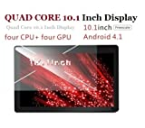 """TURCOM NEW QUAD CORE """"1GB DDR3 RAM"""" ZENITHINK 10-inch_8GB_C94 UPGRADED_Android 4.0_Capacitive Tablet_w/ WebCam and Cortex A9 Processor (Black), Best Gadgets"""