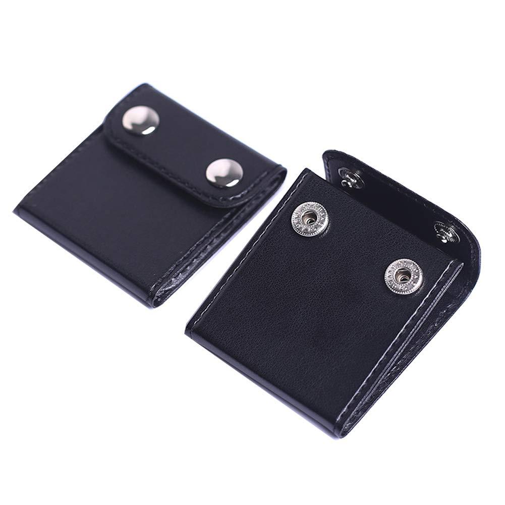 2 PCS Seatbelt Adjuster Comfort Universal Auto Shoulder Neck Strap Positioner Clips Safety Locking Clip Vehicle Car Seat Belt Covers for Adult Kids Black