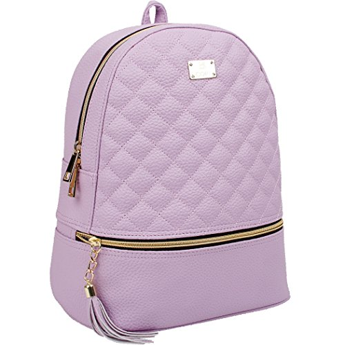 Backpack Black Size Copi One Women's Violet 7gqnI5