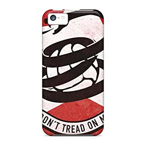 Durable Dont Thread On Me Back Case/cover For Iphone 5c