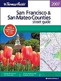 Thomas Guide San Francisco and San Mateo (Thomas Guide San Francisco/San Mateo Counties Street Guide & Directory), Rand McNally Staff, 0528859617