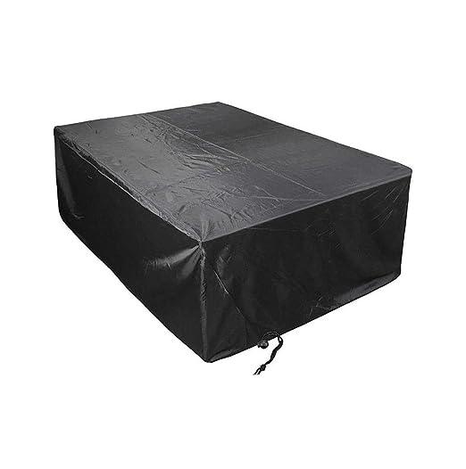 IMPERMEABILE mobili da giardino tavolo sedia divano Copertura da Giardino Rettangolo 420D
