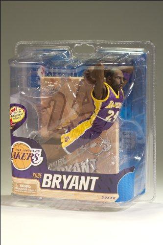 McFarlane Toys NBA Sports Picks Series 20 Action Figure Kobe Bryant (Los Angeles Lakers) Purple Uniform Bronze Collector Level Chase