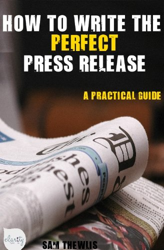 how to write a press release - 2