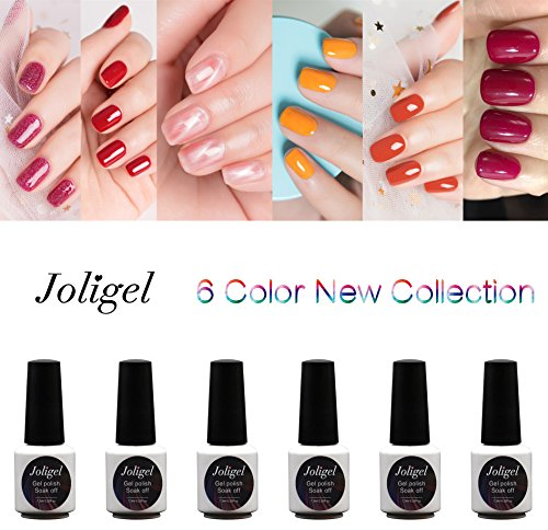 Joligel Gel Nail Polish UV LED Summer Girls, Young Beating R