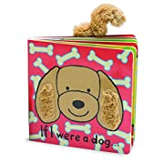 Jellycat Board Books, If I Were a Dog Book - 6 inches