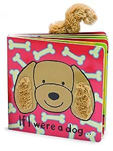 Jellycat Board Books, If I Were a Dog Book - 6 inches