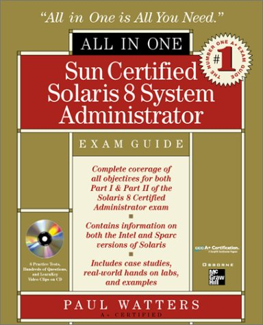 Sun Certified Solaris 8 System Administrator All-In-One Exam Guide