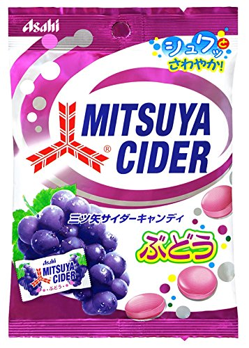 Asahi F & H Mitsuya Cider Candy grape taste 71gX10 bags