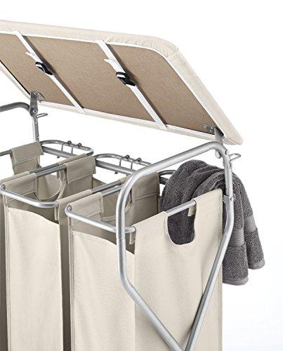 Whitmor Easy-Lift 3-Bag / Triple Laundry Sorter