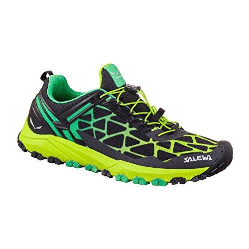 SALEWA Ms Multi Track, Scarpe da Fitness Uomo Nero (Black / Ming Green 0925)
