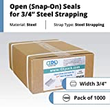 """IDL Packaging-ST-O-34 3/4"""" Open (Snap-On) Seals for"""